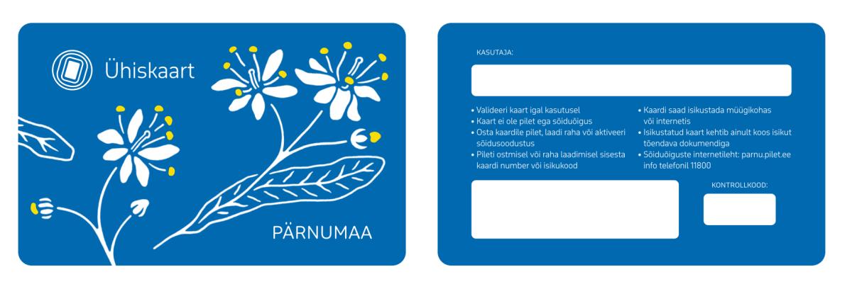 Uus piletisüsteem Pärnus - lisatud ka voldik