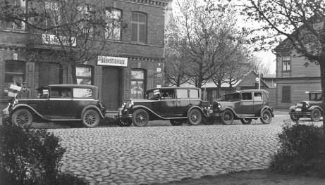 Pärnu taksod 1934. aastal